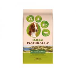 Iams Naturaly-Adulto Cordero de Nueva Zelanda Con Arroz (1)