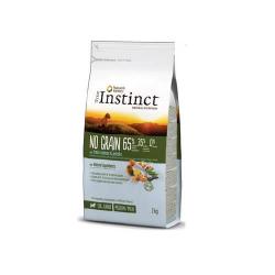 True Instinct-No grain Med/Maxi junior Salmón (1)