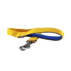 Collar fluorescente para perros TRIXIE Negro - Amarillo