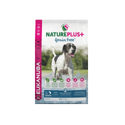 Eukanuba-Nature Plus+ Adult All Breed Salmón Grain free (1)