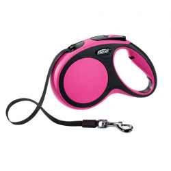 Flexi-Correa Extensible Flexi Confort Color Rosa para Perro (1)