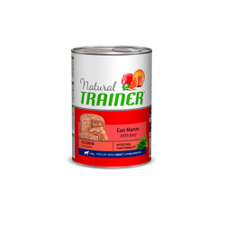 Trainer-Natural Adult Medium Ternera con Arroz y Ginseng. Húmedo. (1)