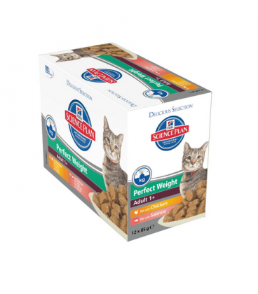 Hills-SP Feline Adult Perfect Weight (Pouch) (1)
