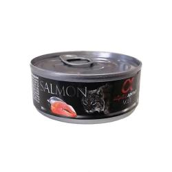Alpha Spirit-Feline Adult Salmón 85 Gr Húmedo (1)