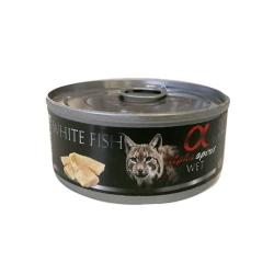 Alpha Spirit-Feline Adult Pescado Blanco 85 Gr Húmedo (1)