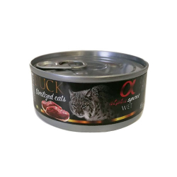 Alpha Spirit-Feline Adult Pato y Kiwi 85 Gr Húmedo (1)