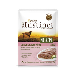 True Instinct-No Grain Medium Salmón con Verduras 300Gr Húmedo. (2)