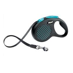 Flexi-Correa Extensible Flexi Design Color Azul para Perro (1)