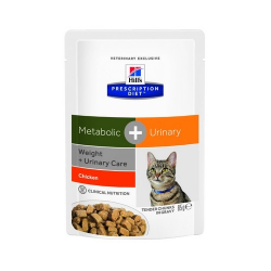Hills Prescription Diet-PD Feline Metabolic+ Urinary. Sobre 85 gr. (1)