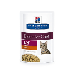Hills Prescription Diet-PD Feline i/d. Sobre 85 gr. (1)
