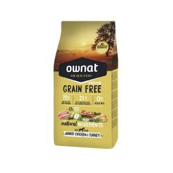 Ownat Grain Free Prime-Junior Pollo y Pavo para perro (2)