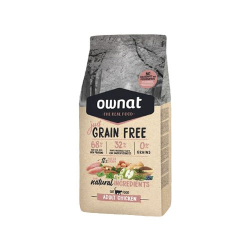 Ownat Just Grain Free-Adulto Pollo para gato (1)