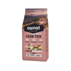 Ownat Grain Free Prime-Mini Pollo y Pavo para perro (1)
