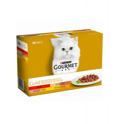 Gourmet Gold-Pack Bocaditos en Salsa Salmón y Pollo (1)