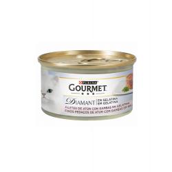 Gourmet Diamant-Láminas de Atún en Gelatina con Gambas (1)