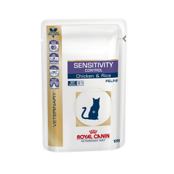 Royal Canin Veterinary Diets-Feline Sensitivity Control Húmedo.100gr (1)