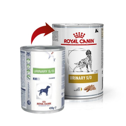 Royal Canin Veterinary Diets-Urinary S/O 410gr Húmedo (1)