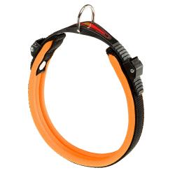 Collar Ergofluo para perros Orange Ferplast