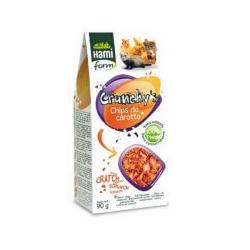 Crunchy's de Zanahoria para roedores Hamiform