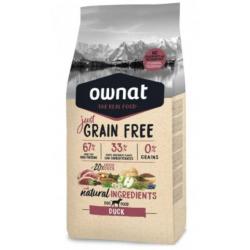 Ownat JUST Grain Free Adult Duck pienso perros adultos de Pato sin cereales