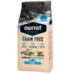 Ownat JUST Grain Free Adult Trout Pienso Perros Adultos de Trucha Sin Cereales