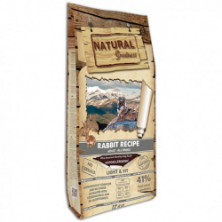 Natural greatness canine light fit sin cereales conejo para perros 12kg