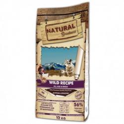 Natural greatness canine sin cereales salvaje para perros 12kg