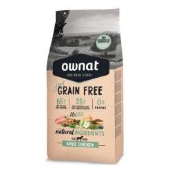 Ownat Just Grain Free-Adulto Pollo para Perro (1)