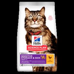 Hills-SP Feline Adult Sensitive Stomach. (1)