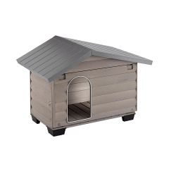FERPLAST-Caseta de Madera Canada para Perro (1)