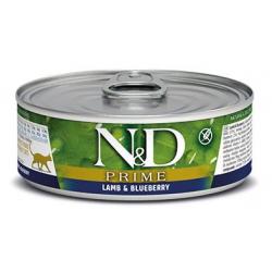 Farmina ND Cat Prime Cordero comida húmeda para gatos 12x80grs