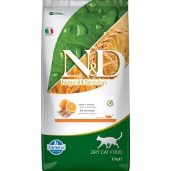 Farmina ND Cat Prime Grain free Pescado pienso para gatos
