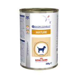 Royal canin senior consult mature lata 400 grs. Vet Size perros mayores