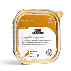 Comida humeda Specific FCW Crystal prevention para gatos con problemas urinarios
