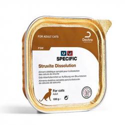 Comida humeda para gatos Specific FSW Struvite dissolution problemas urinarios
