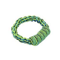 Buster Colour cuerda elastica con asa azul-verde limon