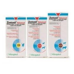 Zentonil Advance para problemas hepaticos en perros y gatos 30cp