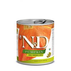 Farmina ND Dog Pumpkin Jabalí comida húmeda para perros 6x285grs