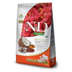 Farmina ND Dog Quinoa Grain free Skin Coat Pescado pienso para perros