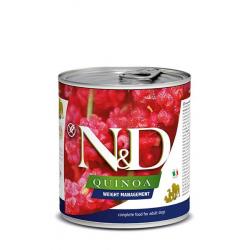 Farmina ND Dog Quinoa Weight management comida húmeda para perros 6x285grs