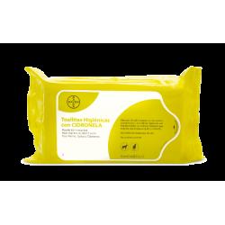Bayer-Toallitas Higiénicas de Citronella para Perros y/o Gatos (1)