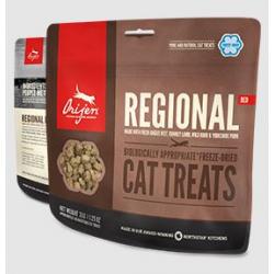 Orijen Regional red Cat Treats Premios Para Gatos 100% Proteina Y Nada Más