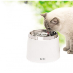 Catit Bebedero Fuente Acero Inoxidable para gatos
