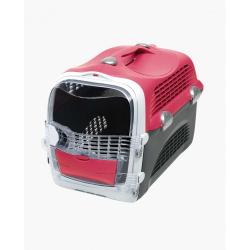 Catit Cabrio Transport Cherry para gatos