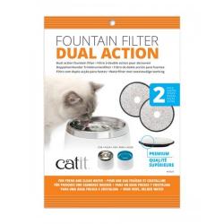 Catit Filtro de Triple Acción para Fuente Acero inox para gatos