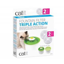 Catit Filtro de Triple Acción para Fuentes para gatos