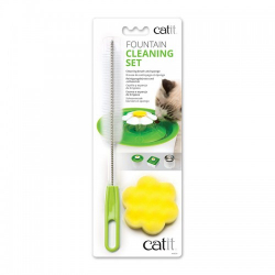 Catit Kit Limpieza Bebederos Fuentes para gatos