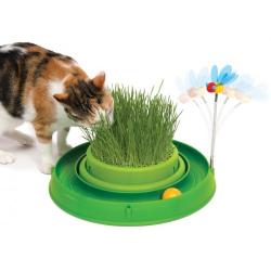 Catit Play Circuito Germinador para gatos