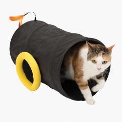 Catit Play Piratas Túnel cañon para gatos