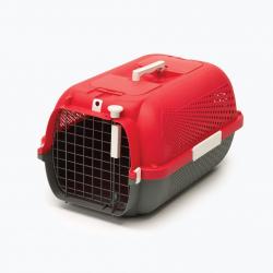 Catit Transportín Profile Rojo para gatos